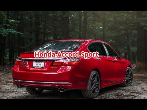 Honda accord sport honda accord sport 2017 honda for Honda accord sport price