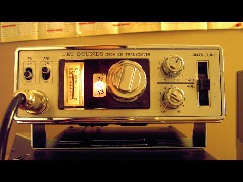 Old Radio Night   01-20-2018   Jet Sounds CB-7000