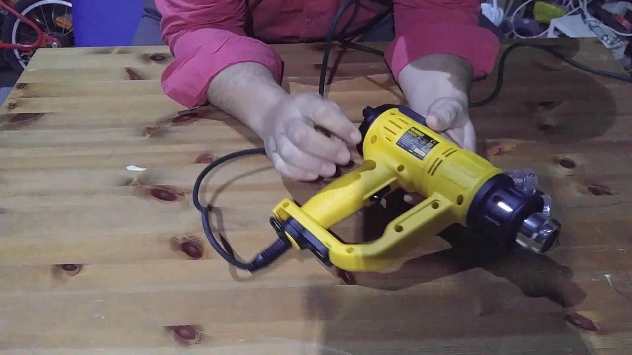 Pistola aire Dewalt D26414 - YouTube