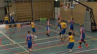 21 october 2017 Rivertrotters M22 vs Goba M22 75-50 1st period