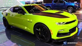 2019 Chevrolet Camaro SS - Exterior and Interior Walkaround - 2019 Detroit Auto Show