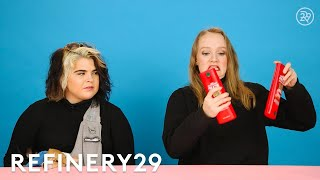 We Swapped Hair Routines For 3 Days | Try This Challenge | Refinery29