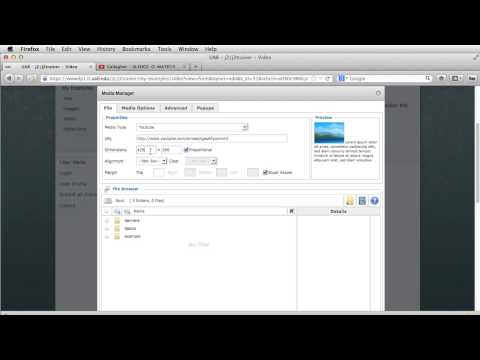 How to insert a video, Joomla 2.5.mp4
