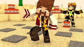 Minecraft: O FILME #69 - CAMPO MINADO NA BASE INIMIGA