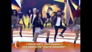 anitta canta não para no legendários 0607