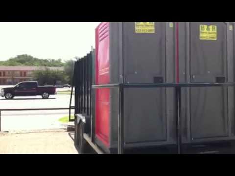 Port A John Trash Trailer: Spike Dykes Trailer Sales Lamesa, TX