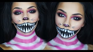 Cheshire Cat Halloween Makeup Tutorial | TinaKpromua