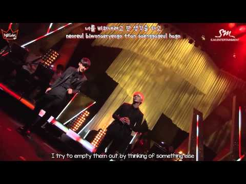 SM THE BALLAD (Jonghyun & Chen) - 하루 A Day Without You live (ENG/ROM/HAN)
