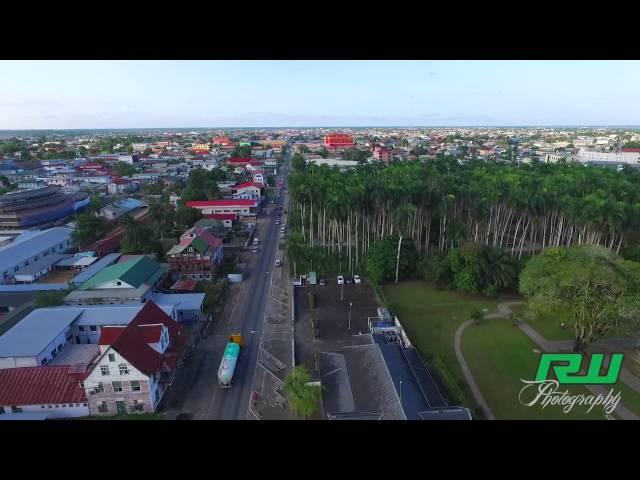 De Palmentuin Paramaribo - Drone  ( HD 1080p60 )