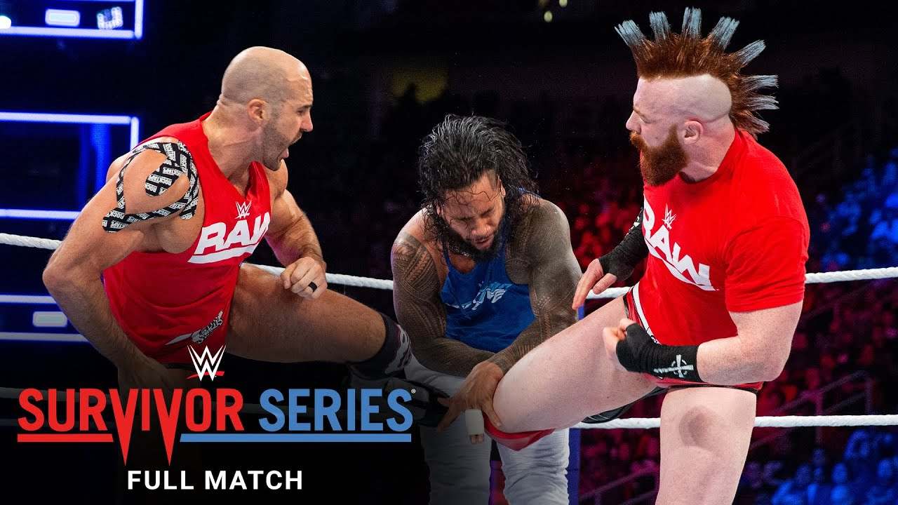 FULL MATCH - The Usos vs. The Bar - Champions vs. Champions Match: Survivor Series 2017