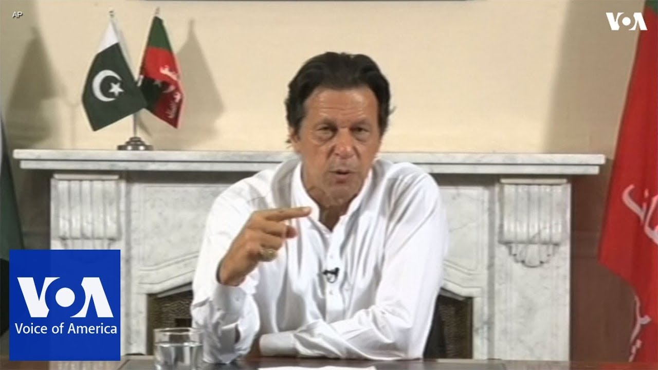 Imran Khan targets poverty and corruption in Pakistan election victory speech