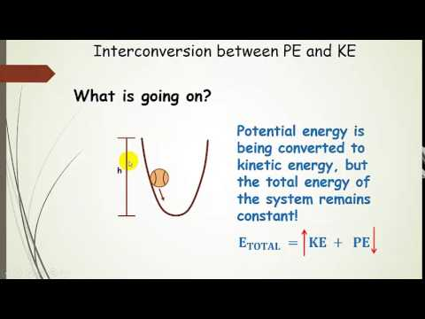 First Law Of Thermodynamics Kinetic And Potential Energy Lecture