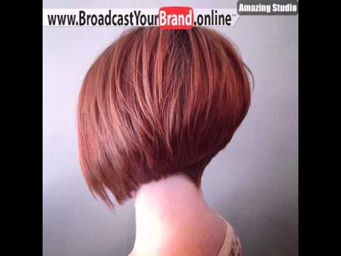 Graduated Bob Hairstyles With Height Youtube