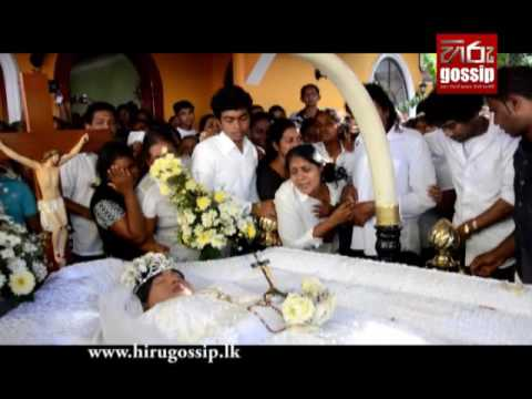Funeral Procession of Singer Kingsley Peiris's Daughter
