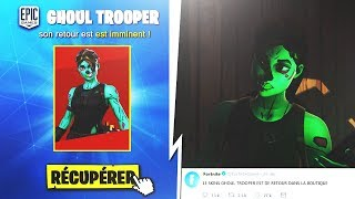 "☠️ THE SKIN ""GHOUL TROOPER"" from RETOUR on Fortnite Battle Royal!!"