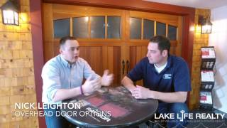 Overhead Door Options meets with Lake Life Realty