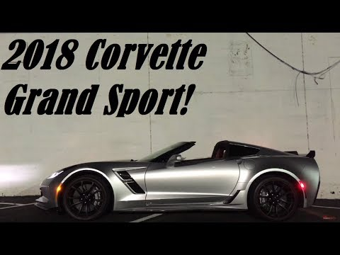 America's Porsche 911 Destroyer?!---2018 Chevy Corvette Grand Sport Review