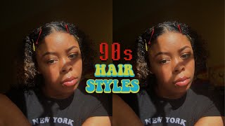 90s inspired hairstyles + huge announcement