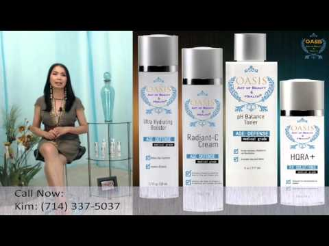 Radiant-C, Ultra Hydrating Booster, pH Balance Toner & HQRA+
