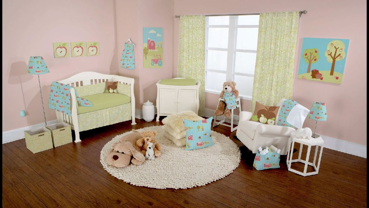 Nice 30 Cute Baby Nursery Room Decoration Design   Room Ideas   YouTube