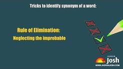Learn to identify SYNONYM of a word