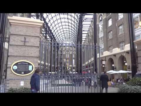 Hay's Galleria, London, England