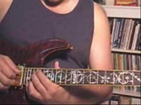 Jack Straw - Descending chord riff