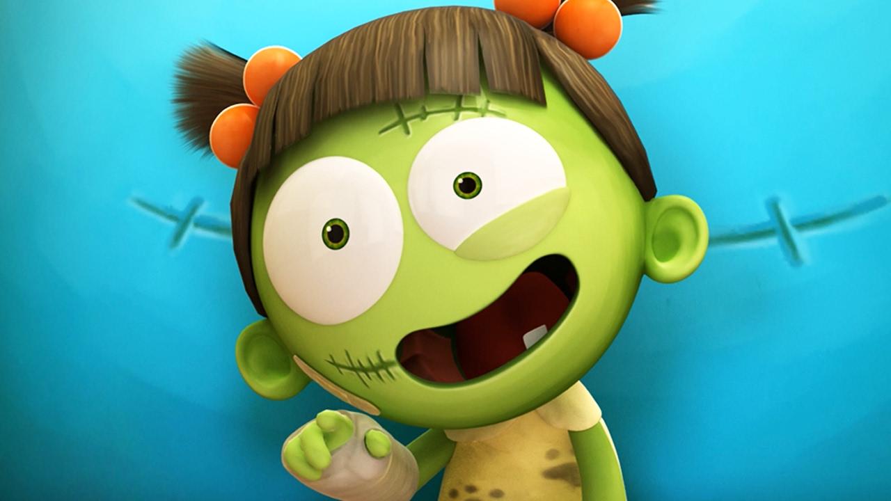 Spookiz Cartoons For Children Funny Animated Cartoon Spookiz Best Of Zizi The Frankenstein Girl 스푸키즈 Videos For Kids Xboxviewtv