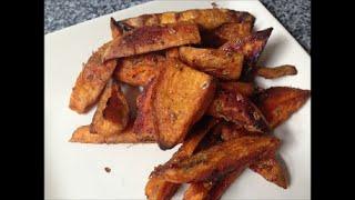 Рецепт Сладкая картошка по деревенски, картофель заченный в духовке