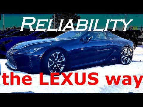 Why Lexus Is So Reliable