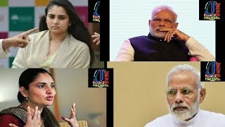 Ramya words war against modi and after ask sorry news