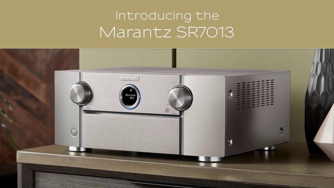 Introducing the Marantz SR7013 Premium AV Receiver