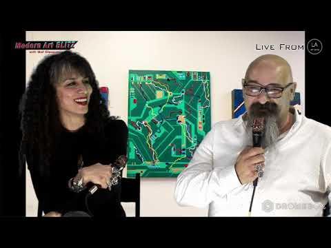 ROUZANNA BERBERIAN & STEPAN PARTAMIAN - Modern Art Blitz episode #94 part 8