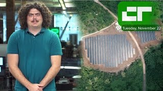 Tesla and SolarCity-powered Island | Crunch Report