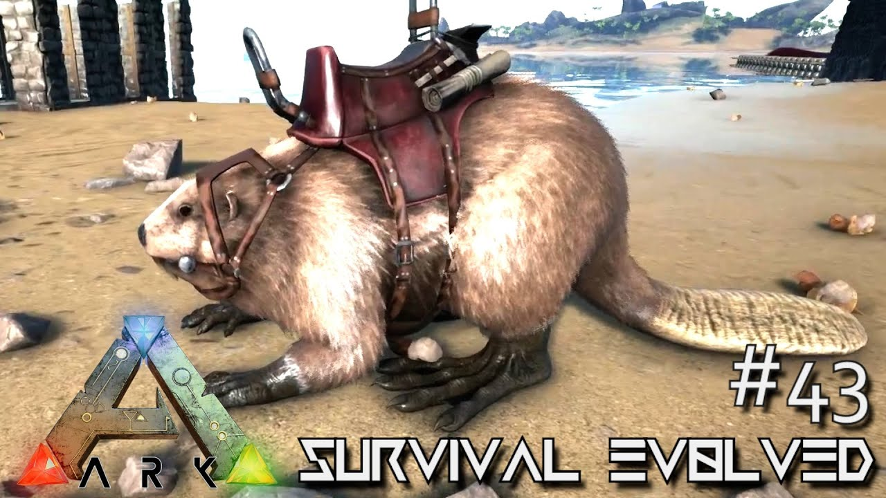 Ark survival evolved giant beaver taming castoroides season ark survival evolved giant beaver taming castoroides season 3 s3 e43 gameplay clipzui malvernweather Gallery