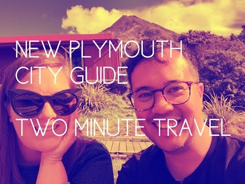 New Plymouth City Guide - Two Minute Travel