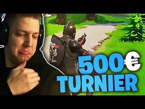 500 Euro Sniper Turnier in Fortnite | SpontanaBlack