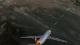 germanwings 9525 last nine minutes of flight with audio blackbox