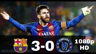 Barcelona vs chelsea 3-0 | full extended match highlights | english commentatory