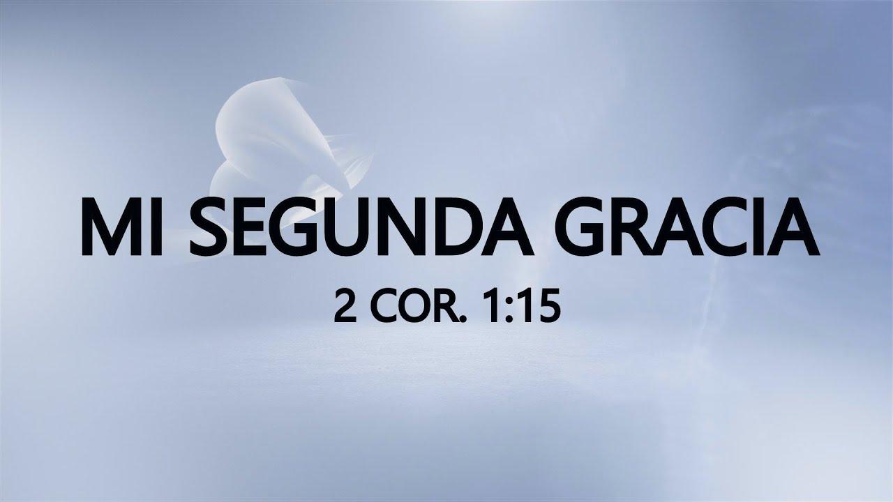 """REESTRENO """"MI SEGUNDA GRACIA"""" 20 de septiembre de 2021 (+57 315 390 0147)"""