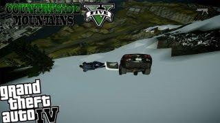 GTA IV LCPDFR Country Side Mountains - Day 8 - Police Camaro & Wild Police Chases
