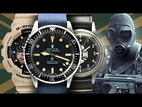 Watches Of The British Armed Forces - UK Military (SAS, Royal Air Force, Royal Navy, Royal Marines)