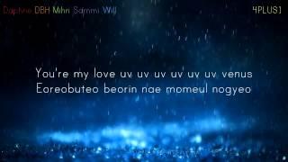 Shinhwa Venus Acapella [4PLUS1 Cover] Lyric Video