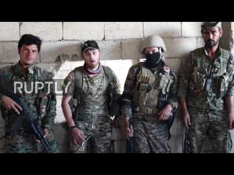 Syria: US providing YPG with 'air cover, drones, weapons' in Raqqa, say Western fighters