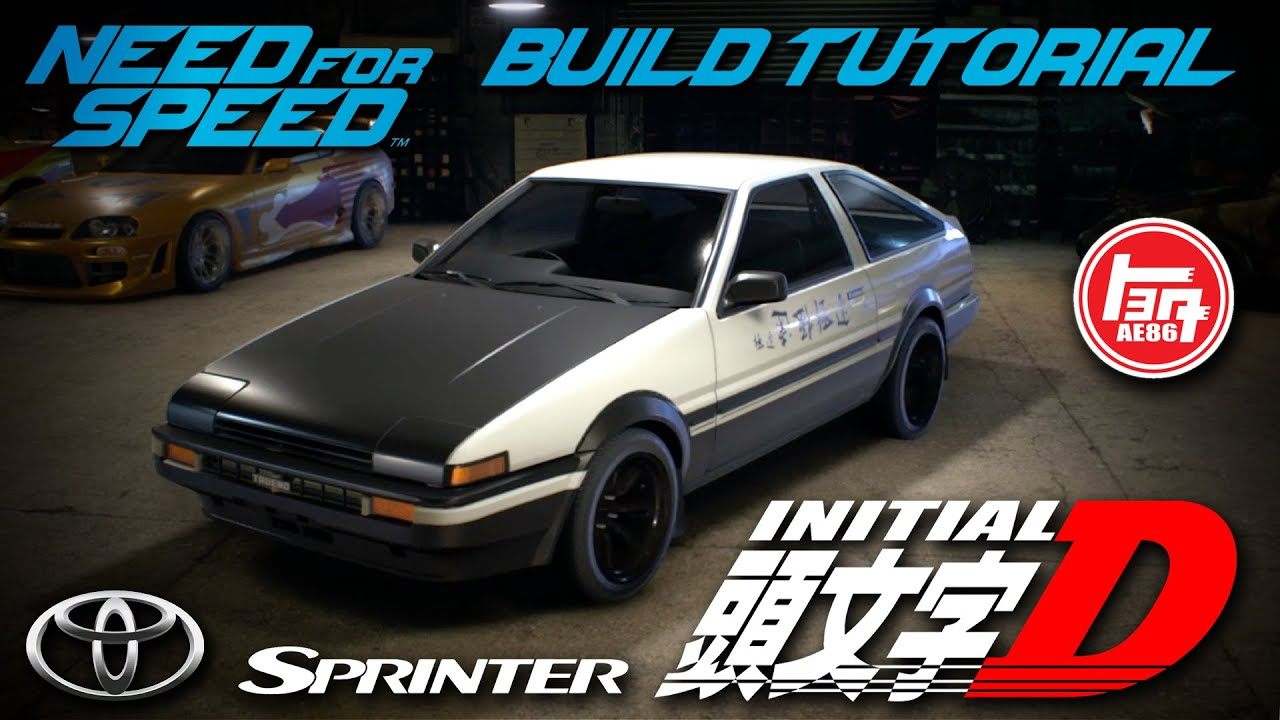 need for speed 2015 initial d toyota sprinter trueno gt. Black Bedroom Furniture Sets. Home Design Ideas