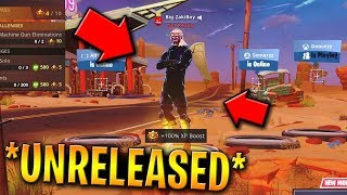 How To Get *UNRELEASED* SKINS & DANCES In Fortnite Like HAPPY POWER! (Advanced Tutorial)