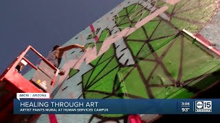 Artist brings awareness to Phoenix homeless population