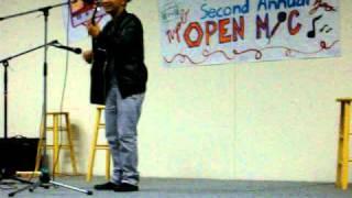 Blong Vang HSA Open Mic