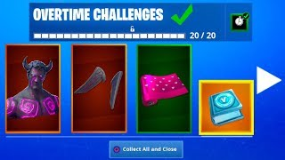 HOW TO GET FREE VALENTINES DAY REWARDS IN FORTNITE! [Overtime Challenges] *NEW*