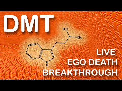 DMT trip - My live ego death experience - psychedelic journey with visuals